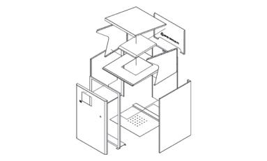 염수분무시험[KSD9502] 및 장비 구조도